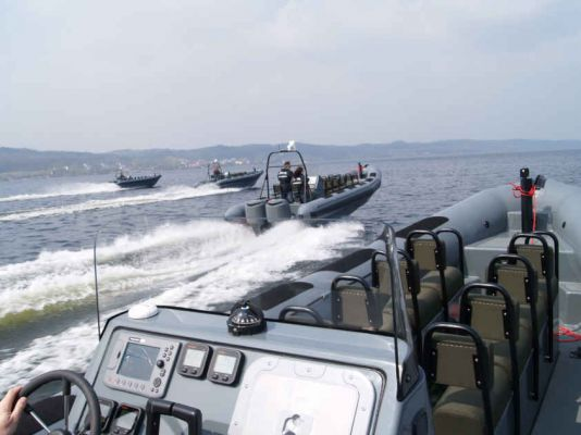 Production and testing of military boats (17)